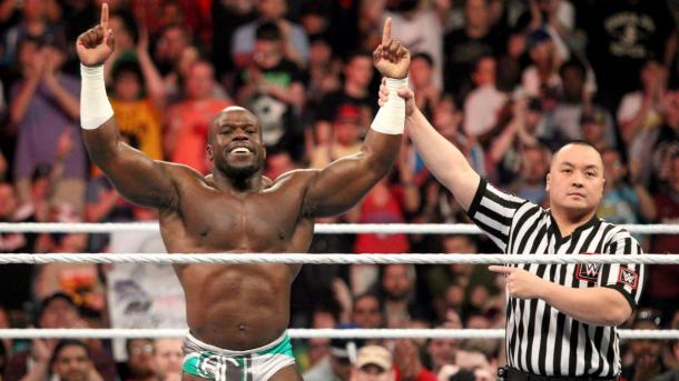 Crews won his debut bout on Monday Night Raw (Photo: daily ddt)