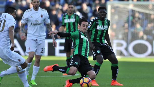 Sassuolo-Milan 0-1, tuttosport.com