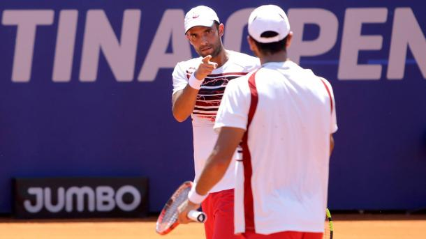 Juan Sebastián Cabal y Robert Farah. Foto: Archivo ATP