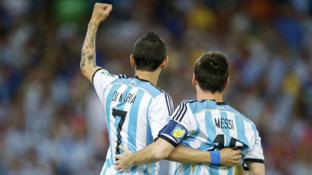 Di Maria e Messi, nepaligoal.com