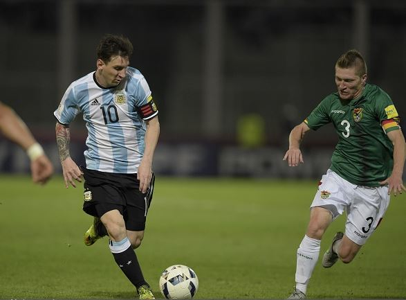 If the United States gets through the group stages, Lionel Messi and Argentina could be next for them | Eittan Abramovich - AFP/Getty Images