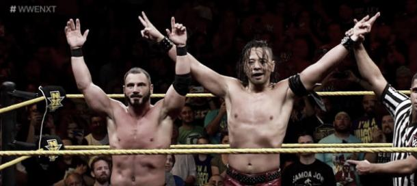 Aries was defeated by Nakamura at NXT TakeOver: The End (image: TJRwrestling.net)