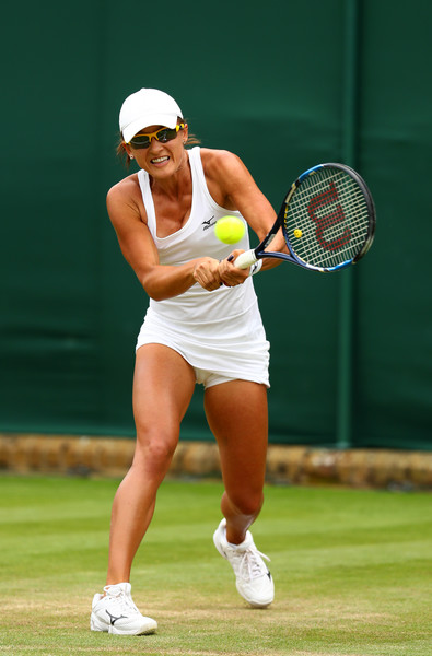 Arina Rodionova in action | Photo: Michael Steele/Getty Images Europe