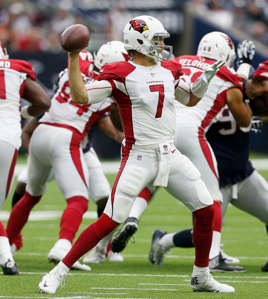 Blaine Gabbert #7 of the Arizona Cardinals. |Source: Bob Levey/Getty Images North America|
