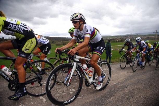 Armitstead in action at Tour de Yorkshire / Cycling Weekly