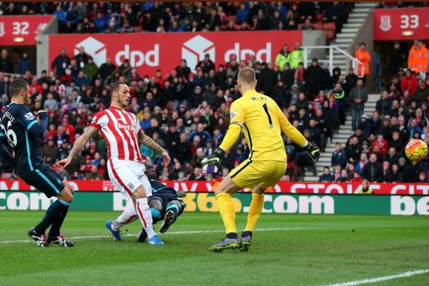 Arnautovic struck twice against City last season | Photo: Alex Livesey/Getty Images