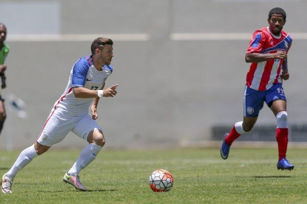 Paul Arriola struck on his debut. (Photo credit: US Soccer)