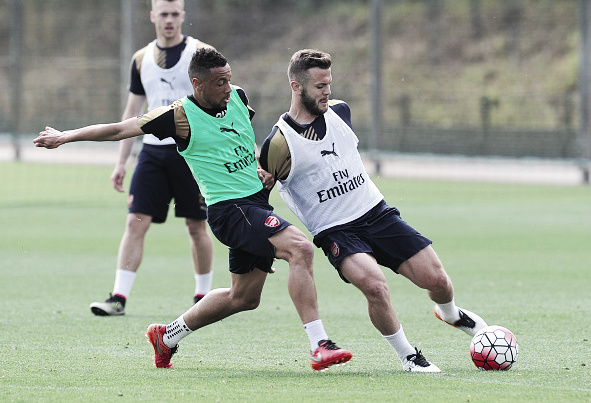 Coquelin (left) and Wilshere (right) are just a couple of the talented midfielders Arsenal can boast.