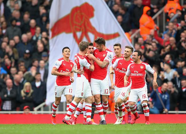 L'Arsenal esulta - Foto: Getty images