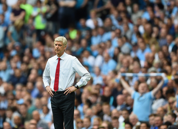 Arsene Wenger, Arsenal - Manchester City | Source: Laurence Griffiths/Getty Images Europe