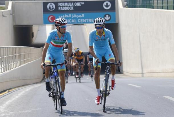 The Italian pair don't seem to get on / CyclingNews