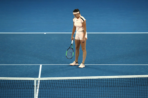 Aryna Sabalenka will be frustrated with her errors from the final   Photo: Ryan Pierse/Getty Images AsiaPac