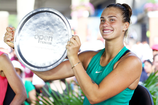 Aryna Sabalenka will definitely be delighted with her performance | Photo: Maddie Meyer/Getty Images North America