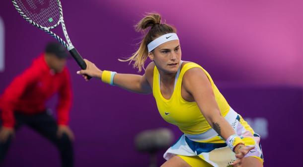 Sabalenka is on course for a sixth career Premier level final/Photo: Jimmie48/WTA