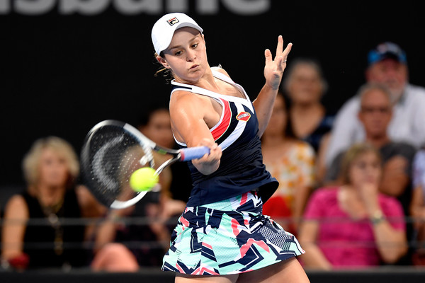 Ashleigh Barty will be looking to excel in front of her home crowd   Photo: Bradley Kanaris/Getty Images AsiaPac