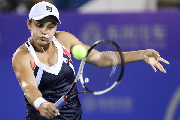 Ashleigh Barty in action | Photo: Yifan Ding/ AsiaPac