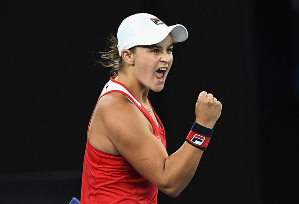 Ashleigh Barty impressed in front of the Australian crowd | Photo: Quinn Rooney/Getty Images AsiaPac