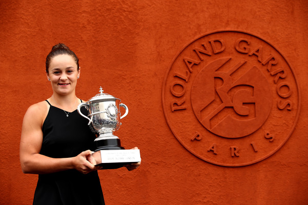 Ashleigh Barty is the French Open champion | Photo: Getty Images Europe via Zimbio