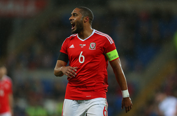 Ashley Williams, Swansea and Wales captain | Photo: Catherine Ivill/AMA