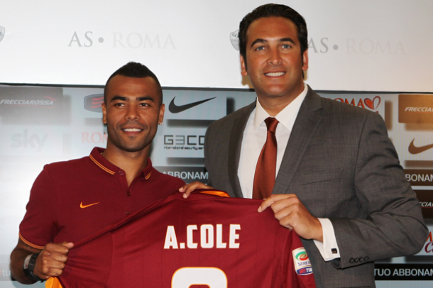 Cole spent two years with Roma | Photo: zimbio.com