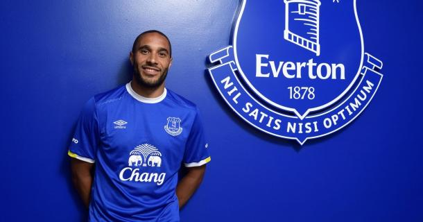 After nine years in Swansea white, the sight of Ashley Williams in Everton blue will take some getting used to. Can Mike van der Horn cushion the blow of his departure? (Photo: Everton FC)