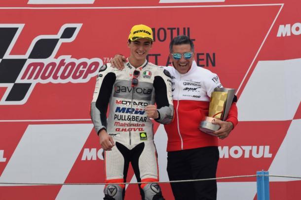 Double success for Bagnaia - ww.mahindra.com (Gaviota Aspar Mahindra Moto3 Team)