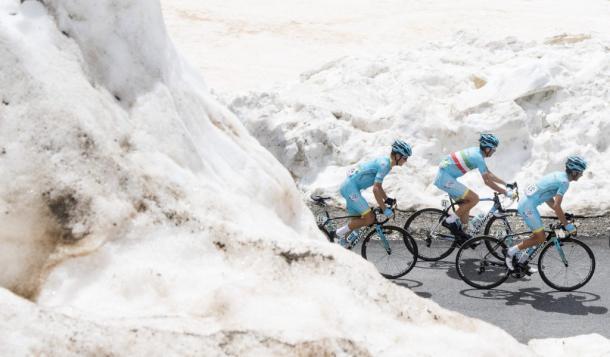 Astana tendrá que replantear su estrategia de carrera | Foto: Giro de Italia