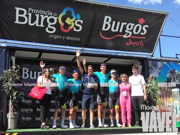 Astana, campeón por equipos de la Vuelta a Burgos 2017. | Foto: VAVEL