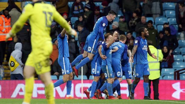 Los Posh sorprendieron a los Villans | Foto: Peterborough United.