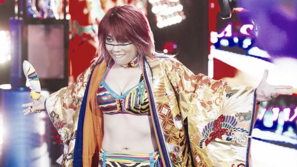 Will Asuka remain undefeated? Photo- WWE.com