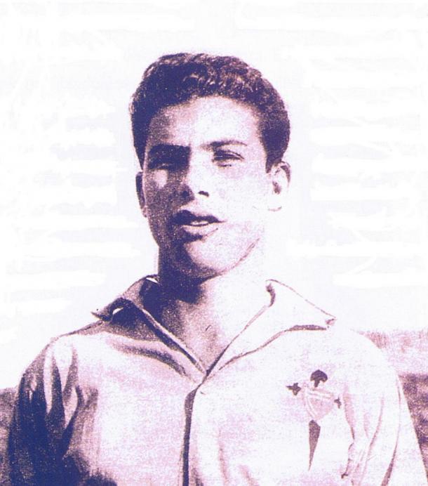Adolfo Atienza destacó en el Celta de principios de los 50 (Foto: yojugueenelcelta.com)