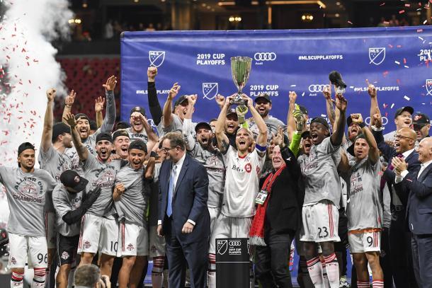 Toronto celebra el campeonato del Este (locosporelfutbol.com.ec)