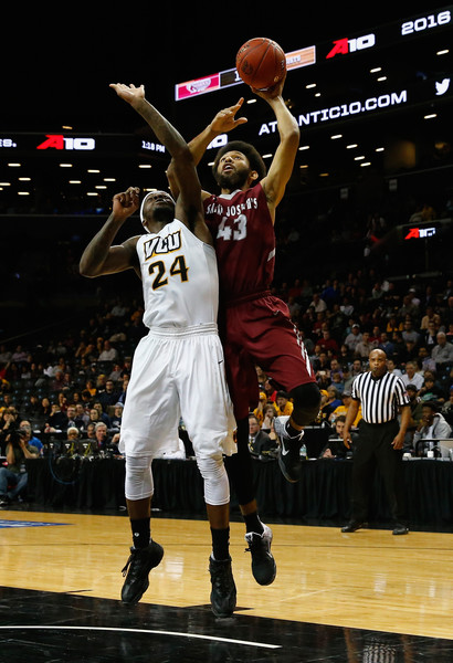 Bembry led the way for St. Joe's in the win (Photo: Al Bello/Getty Images).