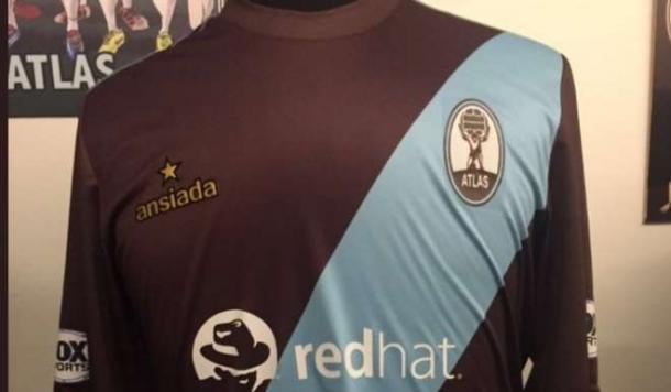 Esta es la camiseta que usará Atlas para jugar ante River. Foto: Diario Olé.