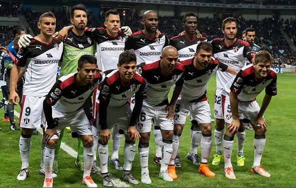Atlas team photo prior to their match against Monterrey / Azael Rodriguez - LatinContent/Getty Images