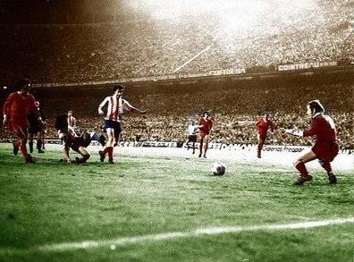 Ayala anota el gol de la victoria. Foto: Cihefe.es