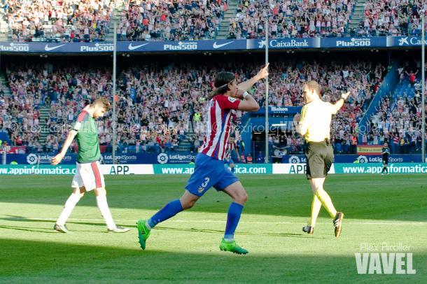 Filipe celebra su tanto. Foto: Álex Ricoller (Vavel)