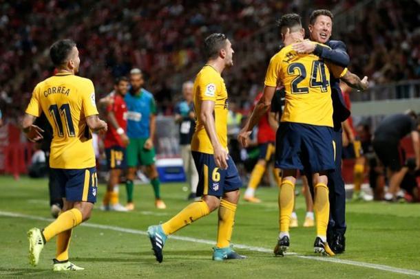 L'Atletico Madrid rimonta nel finale il Girona: 2-2 al Municipal (Fonte foto: Daily Mirror)