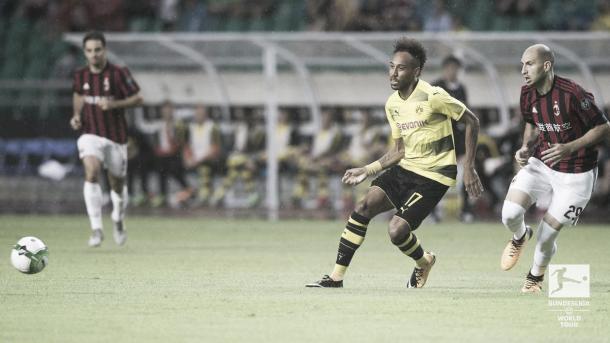 Aubameyang. Fuente: Borussia Dortmund