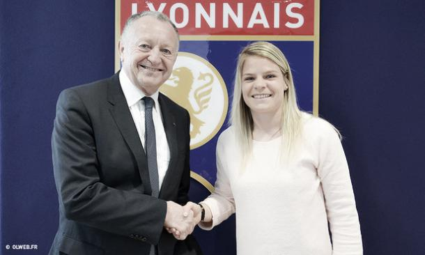 Le Sommer will be at Lyon for a further three years. (Photo: olweb.fr)