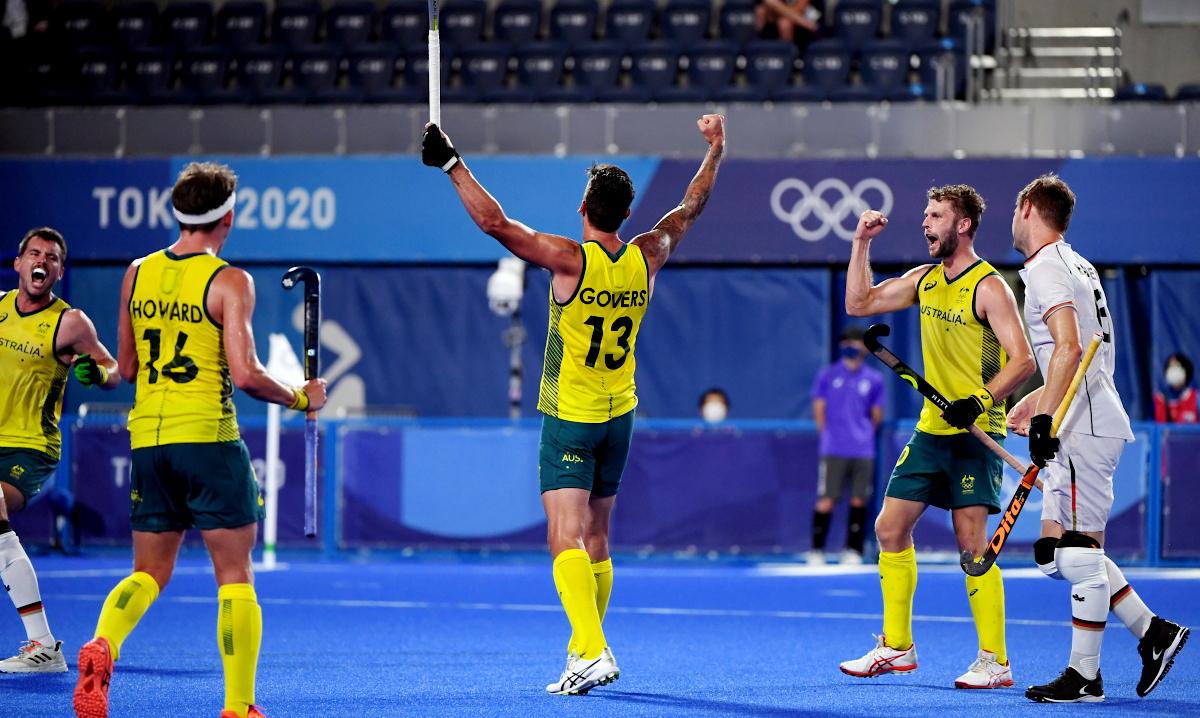 Australia vs Germany, Olympic Games // Source: Australia National Team