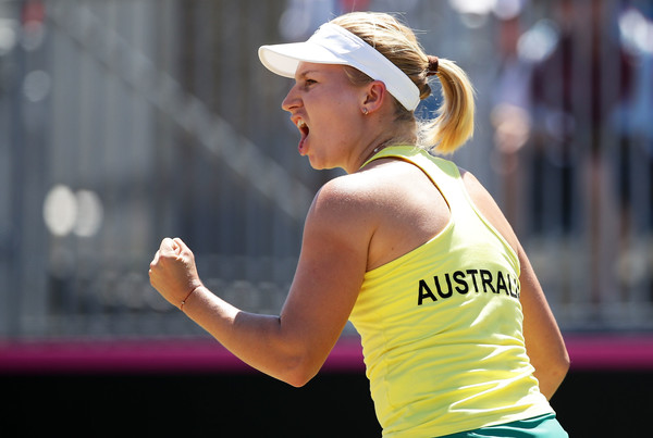Ashleigh Barty stars as Australia beat Ukraine 3-2