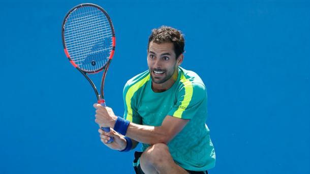 Santiago Giraldo, vencedor del partido de hoy. Foto: Archivo Getty Images