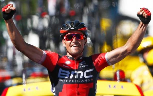 BMC's Avermaet took victory and the Yellow Jersey yesterday / The Telegraph