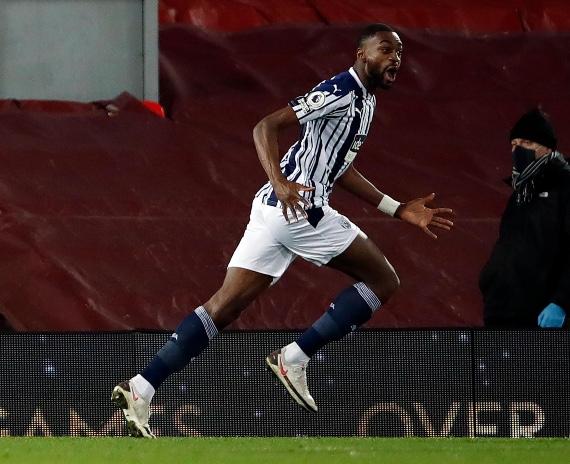 Celebración de Ayaji en el gol. Fuente: Premier League