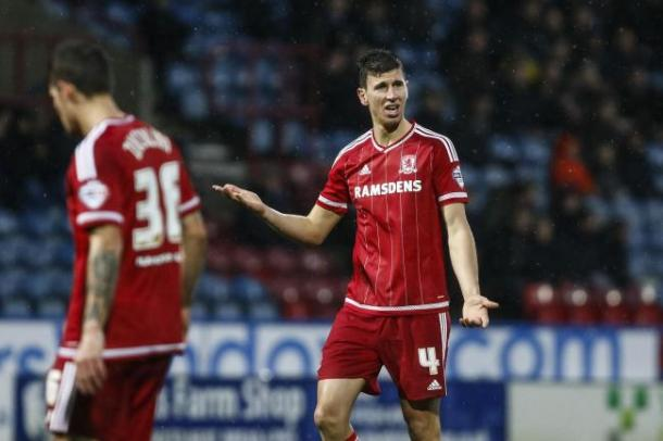 Daniel Ayala will face a late fitness test ahead of the Stoke game | Photo: Northern Echo