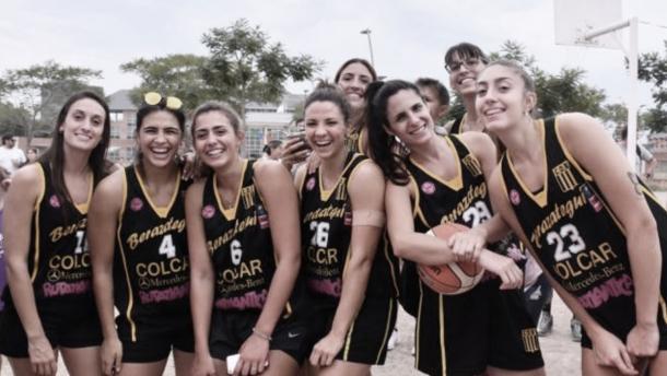 Jugadoras del Club Deportivo Berazategui (Foto: La Liga Contenidos)