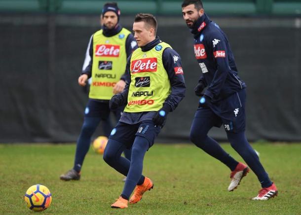 Cagliari-Napoli 0-5. Manita azzurra, show napoletano