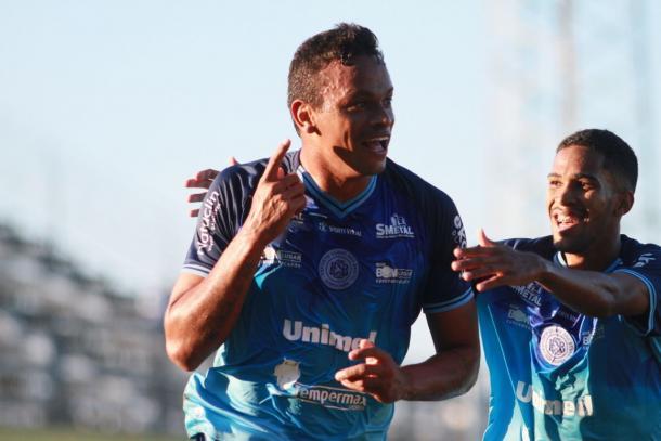Vitória sobre o Brangantino na sétima rodada da série C. (Foto: Jesus Vicente / EC São Bento)
