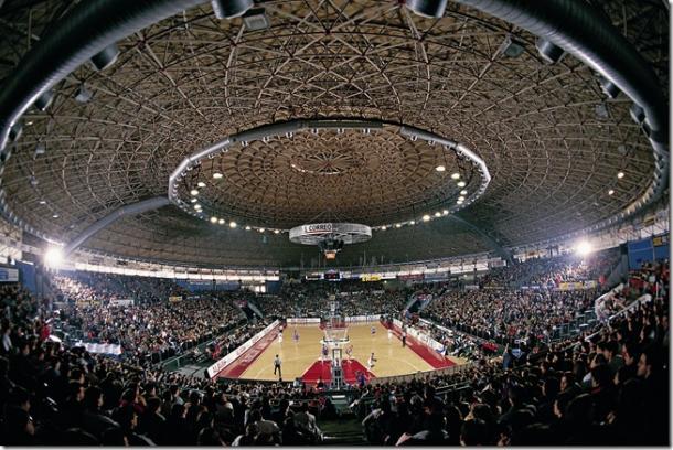 El Pabellón Álava, con 5.200 espectadores. | Foto: Baskonia